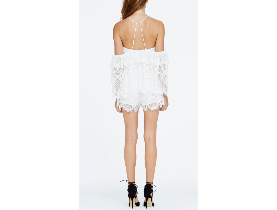 3bd4bcb7d1 Lucy In The Sky Playsuit - Size 8 - Designer Hire